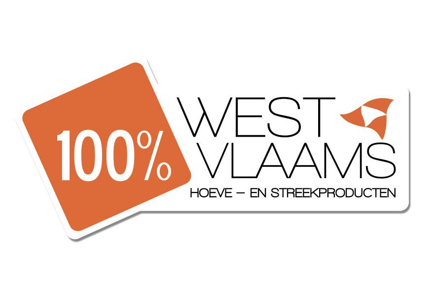 logo 100 procent West-Vlaams